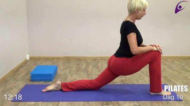 10-Pilates stretch